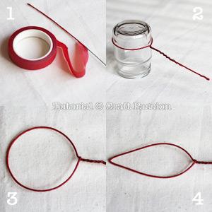poinsettia wire