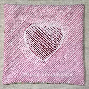 valentine pillow sew 21