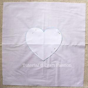 valentine pillow sew 3