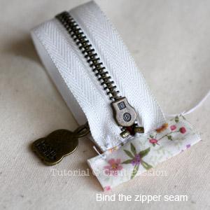 zipper binding 2