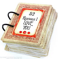 """""""52 Reasons I Love You"""" Cards Tutorial"""