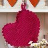 Heart Shaped Potholders