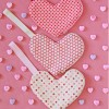 Heart Shaped Zippered Pouches