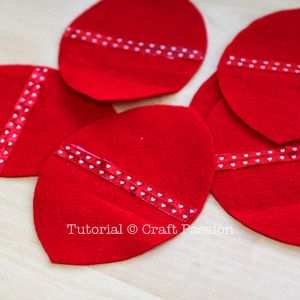 make heart fortune cookies 4