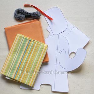 sew elephant plush 1