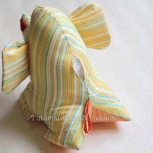 sew elephant plush 13
