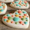 Simply Dotty Valentines Cookies