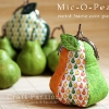 Mic-O-Pear Metal Frame Coin Purse