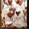 Valentine Garland from Plastic Grocery Bags