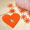Asterisk Heart Garland