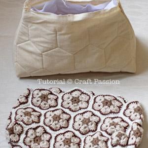 african flower crochet bag 6