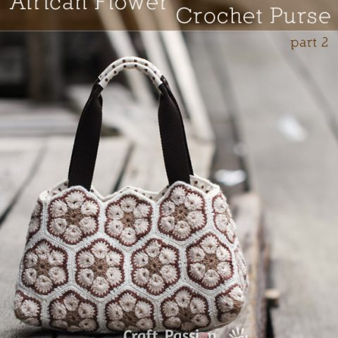 African Flower Purse - Part 2, Sew Insert Lining