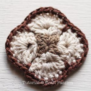crochet african flower square 2