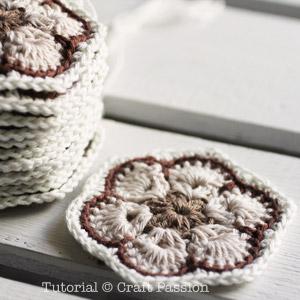 crochet african flower2