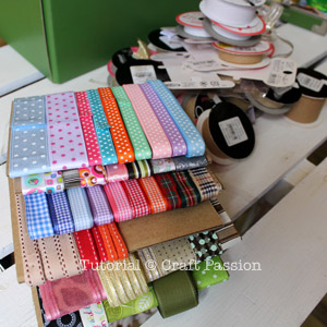 stashed ribbons organizer