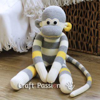 Sock Monkey Sewing Pattern