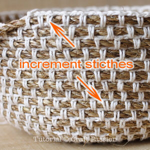 crochet manila rope basket 11