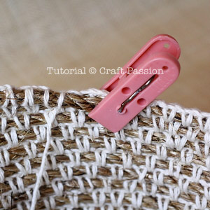 crochet manila rope basket 15