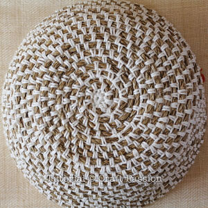 crochet manila rope basket 9