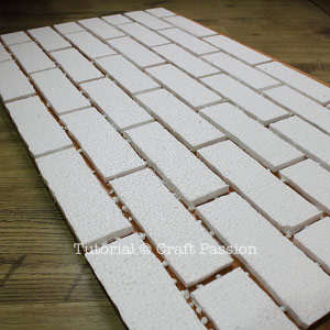 styrofoam bricks