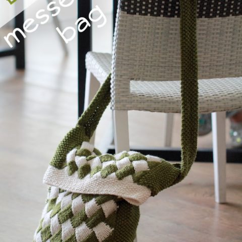 Entrelac Messenger Bag Pattern