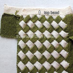 knit entrelac bag 7