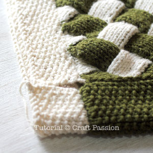 knit entrelac bag 8
