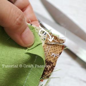 knit entrelac bag lining 16