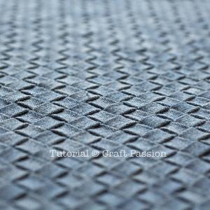intrecciato weave texture