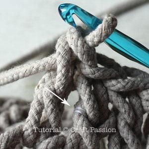 crochet doily rug 7
