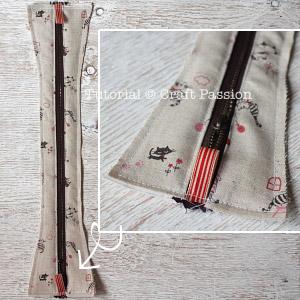sew zipper pencil case 10