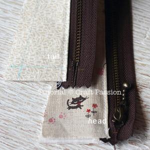 sew zipper pencil case 9