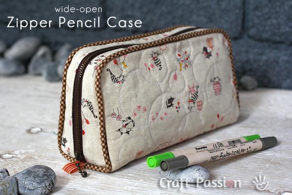 zipper pencil case 1