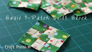 9-patch quilt block