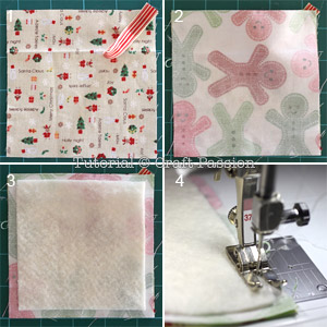 sew christmas placemats coasters