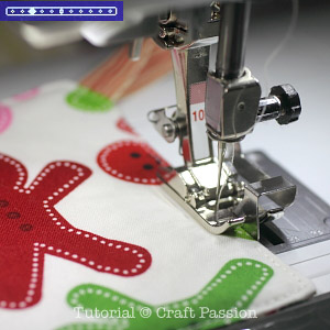 sew christmas placemat coaster26