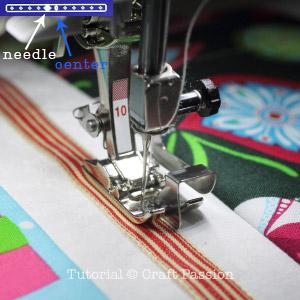 Bernina edge stitch foot 10