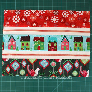 sew christmas placemat