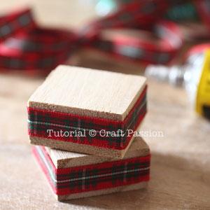 make pom pom christmas tree 8