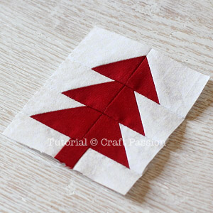 easy tree quilt block