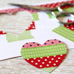 washi tape heart 2