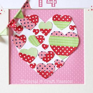 washi tape heart 3