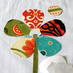 image relating to Free Printable Flower Applique Patterns identified as Flower Applique - Cost-free Applique Practice Craft Pion