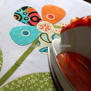 picture relating to Free Printable Flower Applique Patterns identify Flower Applique - No cost Applique Behavior Craft Pion