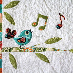 songbird applique