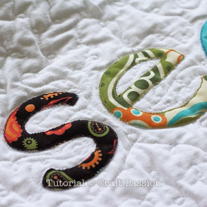 secret garden quilt banner