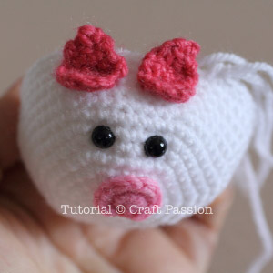 piggy ears attached
