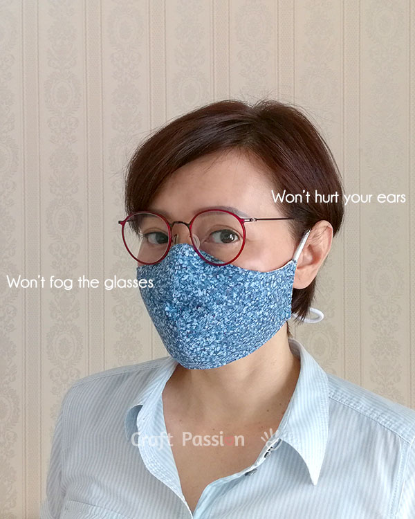 anti-fog face mask