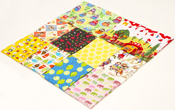 Giveaway: 10 Fat Quarters Fabrics {Closed}