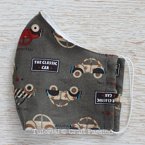 Passion Pattern • Sewing Face Craft Mask - Patter Free